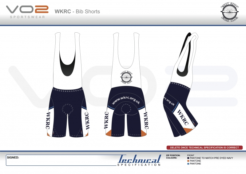 V2-251 - West Kent Cycling Club-Bib Shorts