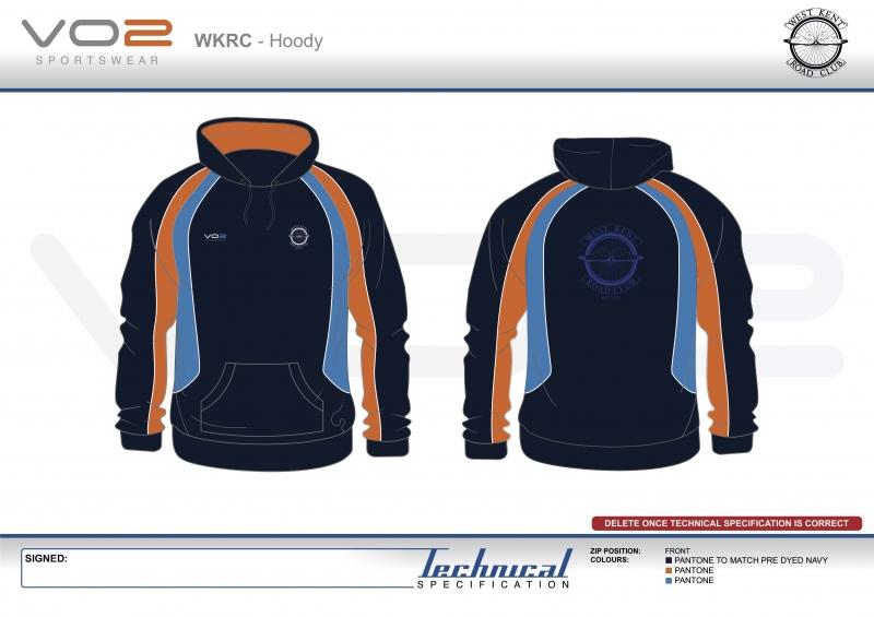 V2-251 - West Kent Cycling Club-Hoody