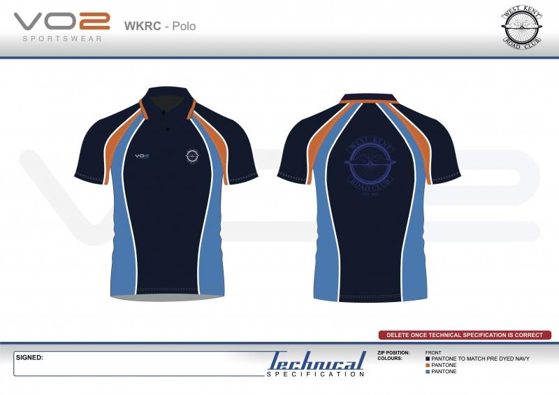 V2-251 - West Kent Cycling Club-Polo shirt 2